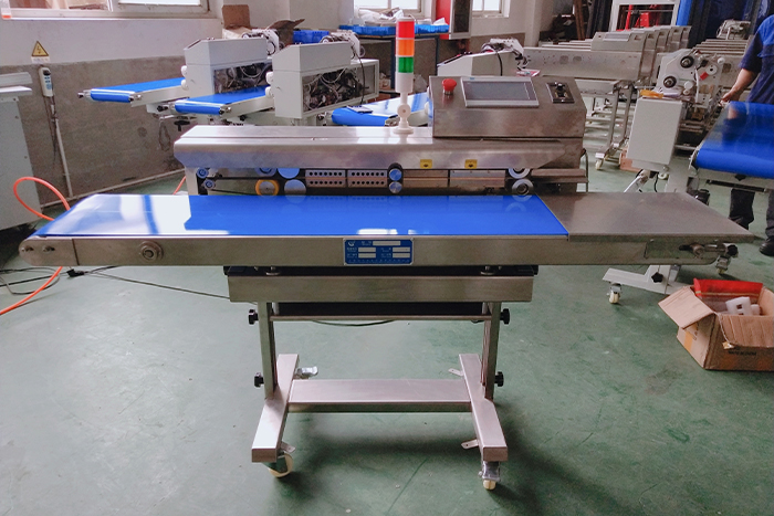 PLC Zipper Bag Sealer CLPACK
