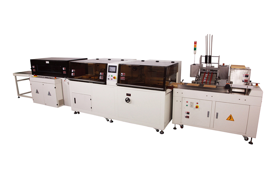 Automatic Sealing Cutting Shrink Wrapping production line