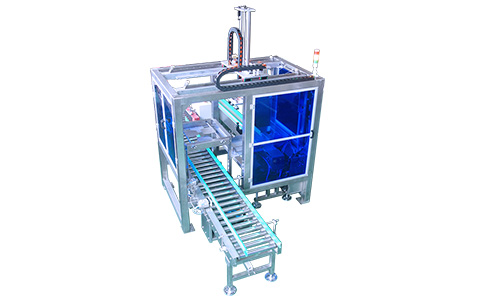10kg bags packing stacking machine