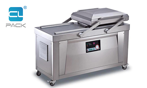 What aspects should be paid attention to in the use and maintenance of the two-chamber vacuum plastic bag sealer?