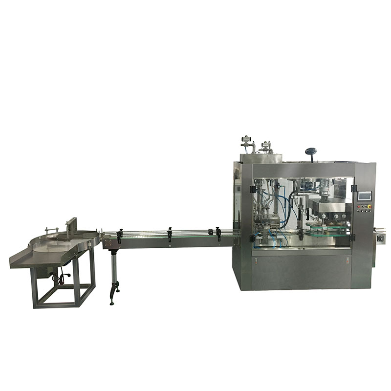 Automatic Filling Capping And Labeling Machine CZP-6