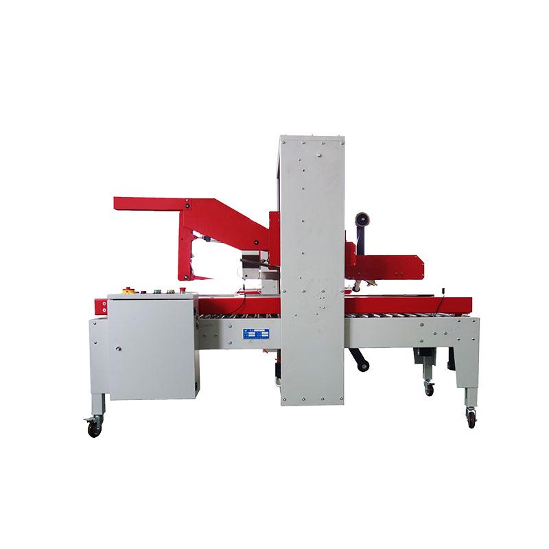 Automatic Fold Lids Tape Sealing Machine FXJ-5050TQ