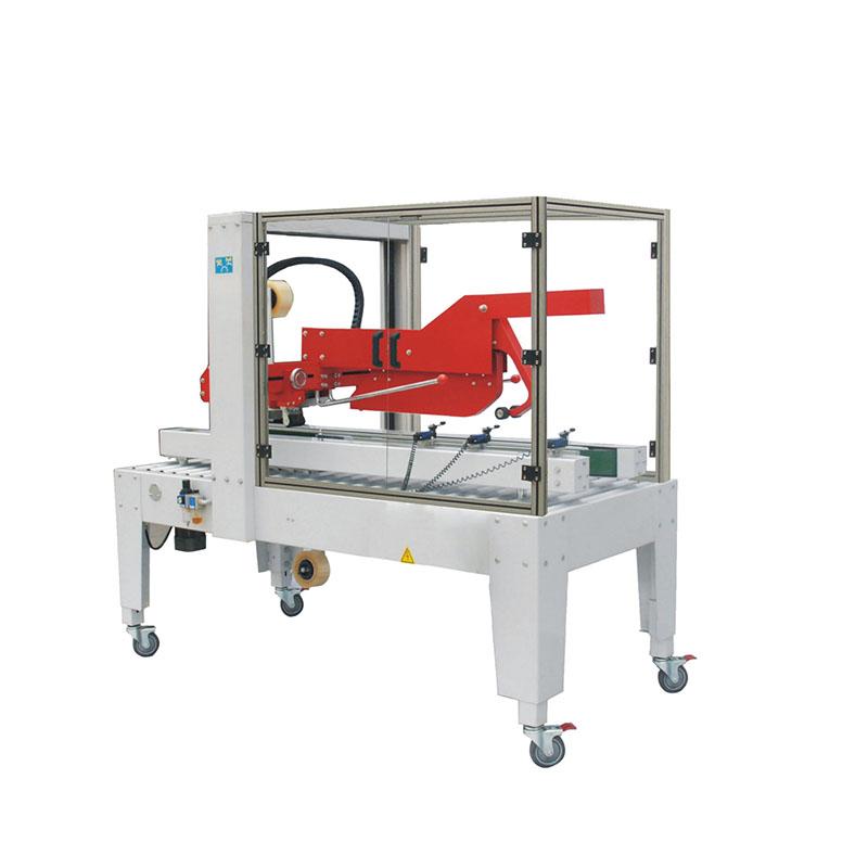 Automatic Fold Lids Tape Sealing Machine FXJ-5050Z