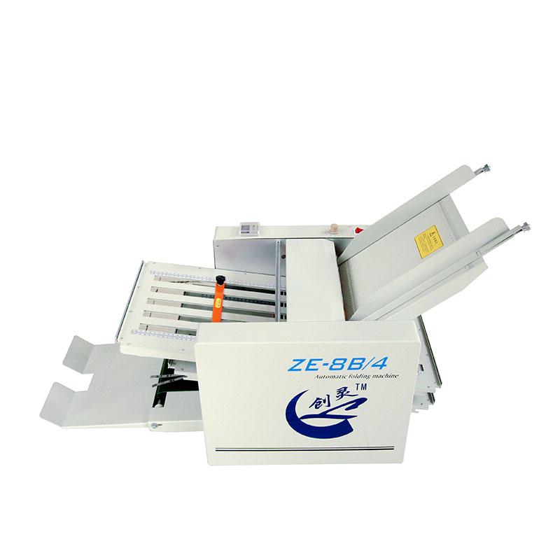 Automatic Paper Folding Machine ZE-8B / 4