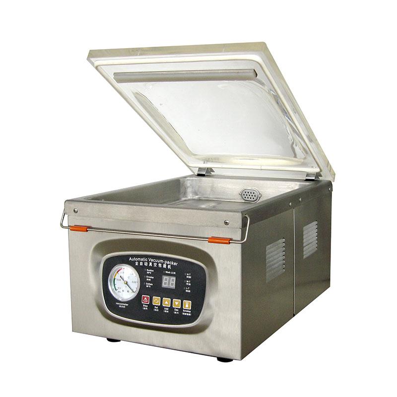Household Shop Using Small Vacuum Packaging Machine DZ-260/P