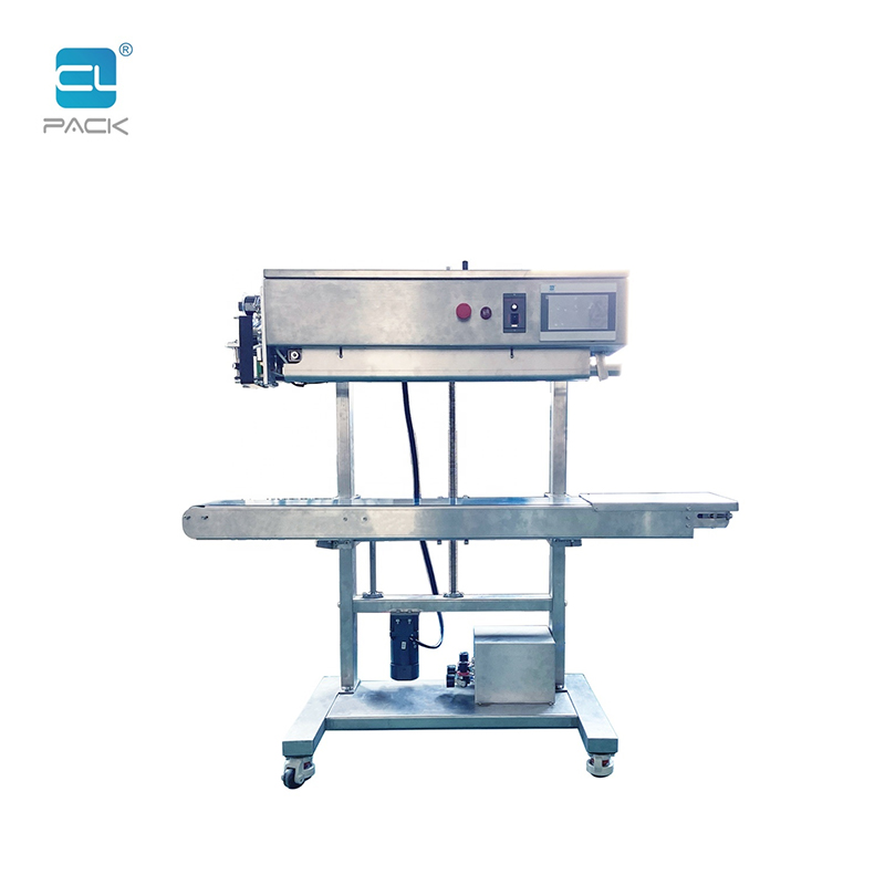 PLC Vertical Gas Nitrogen flush Vacuum Continuous Sealing Machine FRKS-1420L WDSC