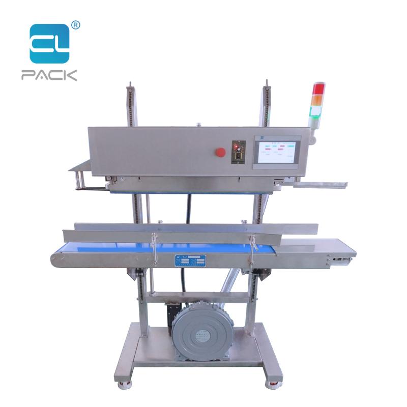 PLC Continuous Vertical Air Exhaust Pumping Sealing Machine FRK-1620LQS/C