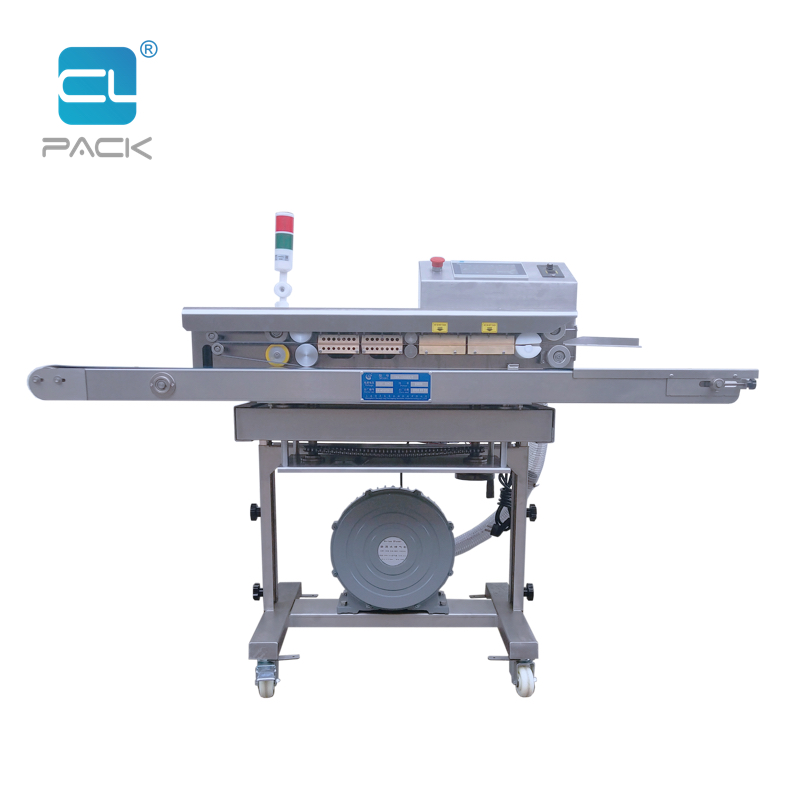 PLC Continuous Air Exhaust Inflation Pumping Sealing Machine FRK-1520QS/C