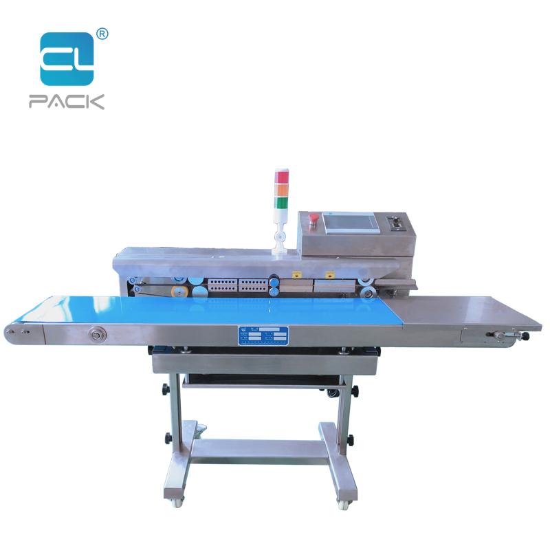 PLC Continuous Zip Bag Sealing Machine FRK-1420W/SCL