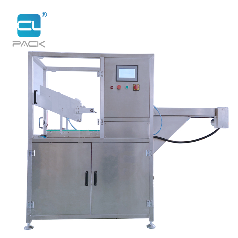 LHJ Automatic tray denester & soaker pad placer